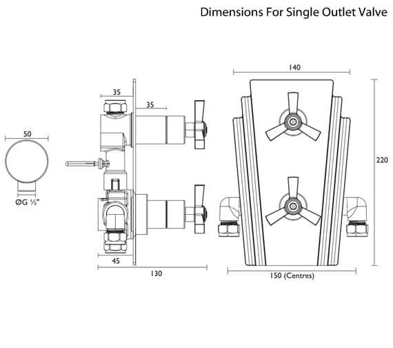 Technical drawing QS-V82390 / SGRC01