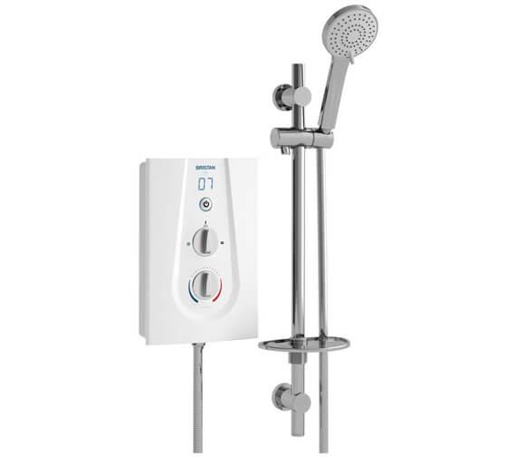 Bristan Joy 8.5KW White Electric Shower