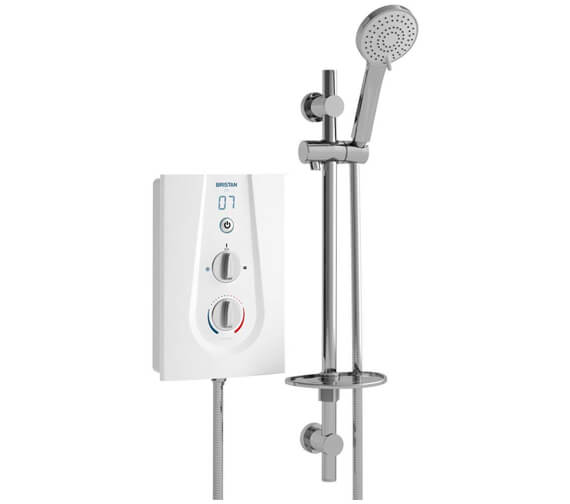 Bristan Joy 9.5KW White Electric Shower