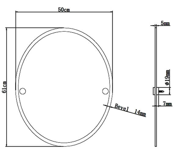 Technical drawing QS-V6806 / COMP MROV C