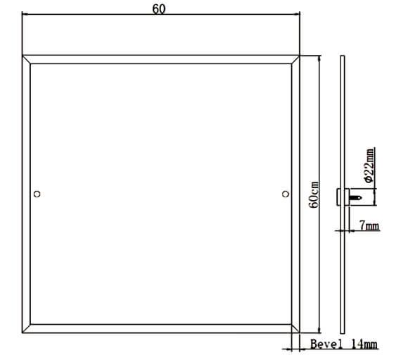 Technical drawing QS-V6942 / COMP MRSQ C