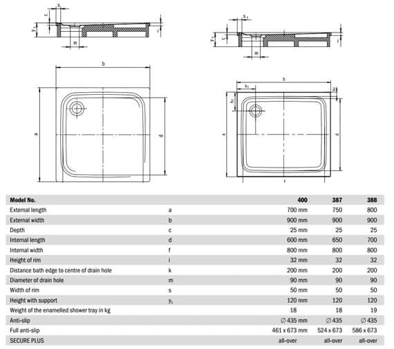 Technical drawing QS-V21699 / 430000010001