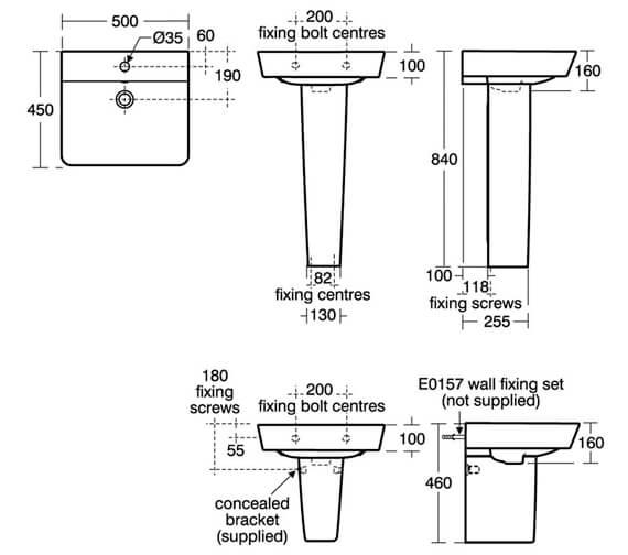 Technical drawing QS-V8412 / E076801