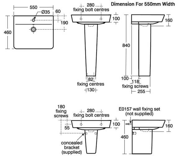 Additional image for QS-V8412 Ideal Standard Bathrooms - E076801