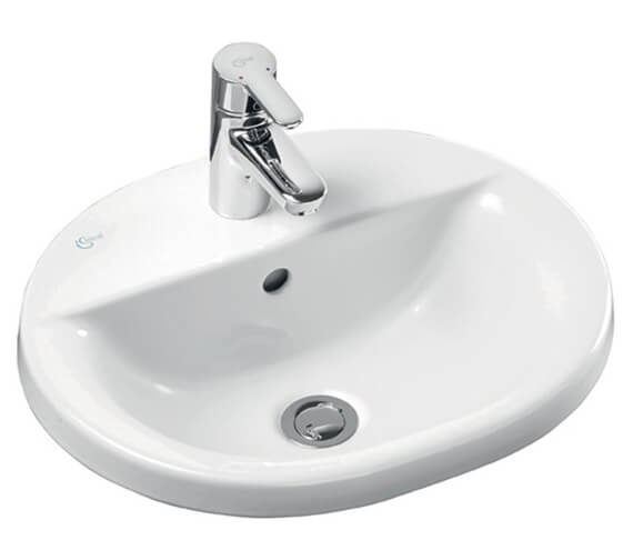 Ideal Standard Concept Oval 1 TH 480mm Countertop Basin