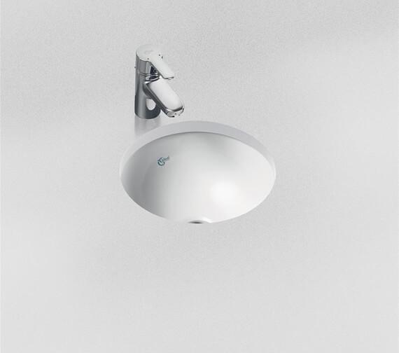 Ideal Standard Concept Sphere 380mm Under Countertop Basin