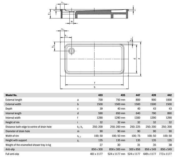 Technical drawing QS-V21710 / 433300010001