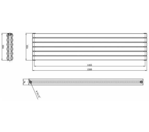 Technical drawing QS-V17304 / HL368H