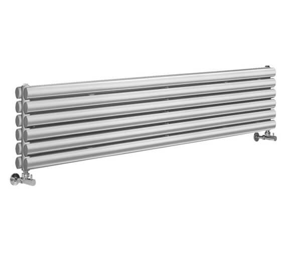 Additional image of Hudson Reed Revive 1500 x 354mm Double Panel Horizontal Designer Radiator