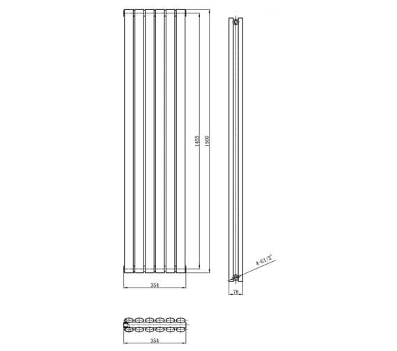 Technical drawing QS-V21826 / HL368