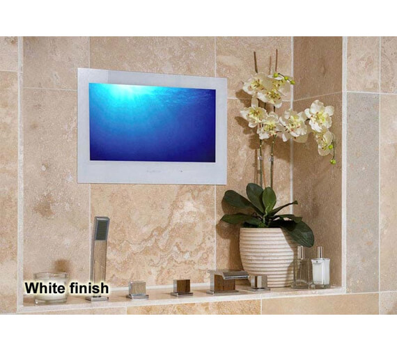 Alternate image of ProofVision 19 Inch Premium Widescreen Waterproof Bathroom TV With Black Finish