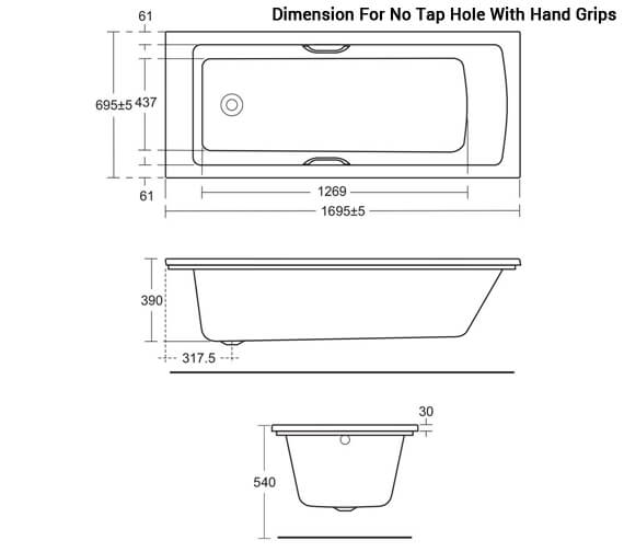 Additional image for QS-V10419 Ideal Standard Bathrooms - E256301