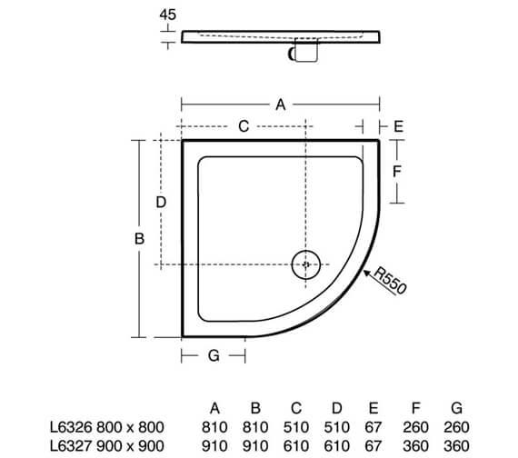 Technical drawing QS-V76877 / L632601