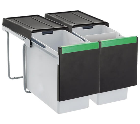 Carron Phoenix Linea 360 Waste Sorter Bins