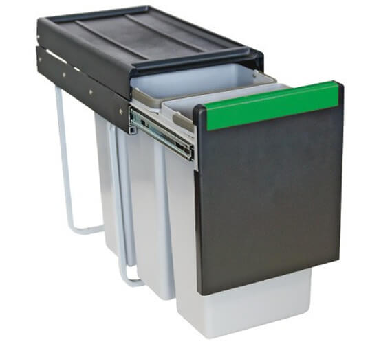 Additional image of Carron Phoenix Linea Waste Sorter Bins