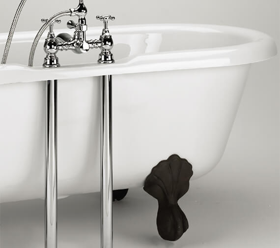 Bristan Chrome Bath Shroud Covers