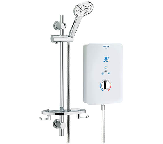 Bristan Bliss White 8.5KW Electric Shower