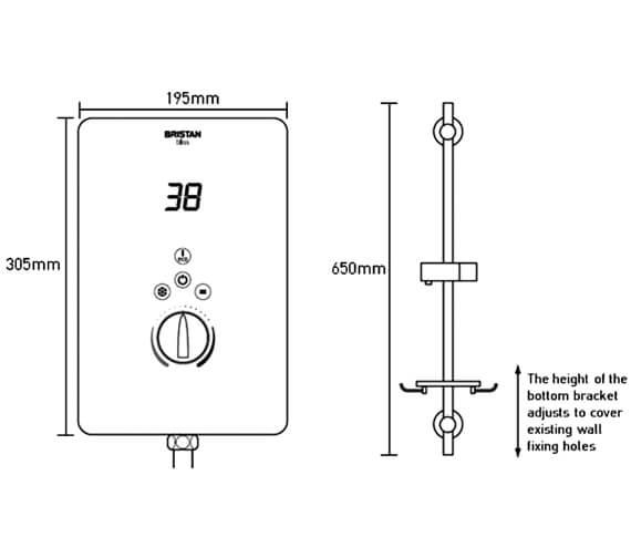 Technical drawing QS-V6883 / BL385 W