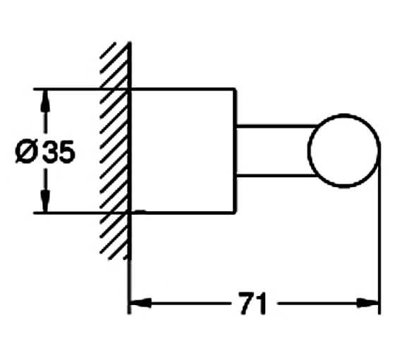 Technical drawing QS-V88989 / 40312DC3
