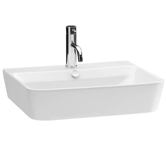 Saneux Project 550mm Wide 1 Tap Hole Washbasin