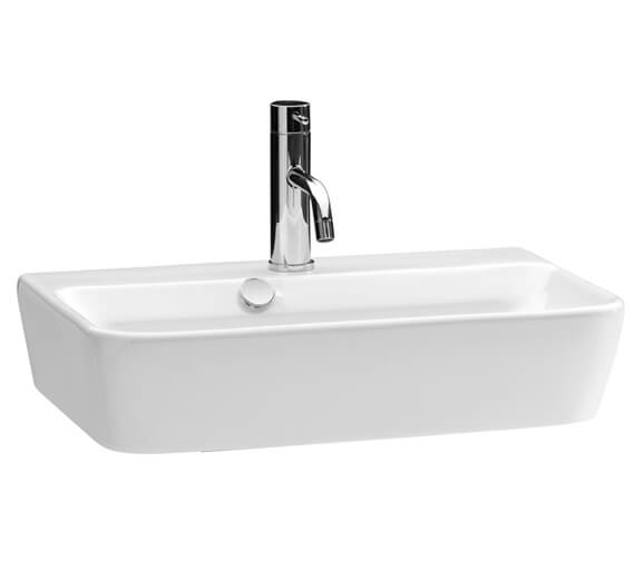 Additional image of Saneux Project 500mm Wide 1 Tap Hole Washbasin