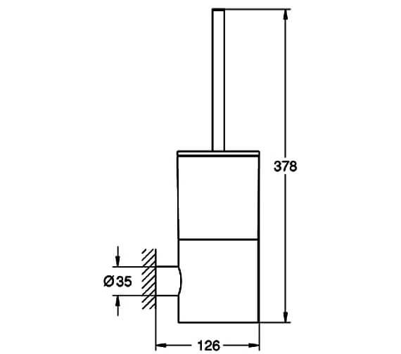 Technical drawing QS-V88991 / 40314DC3