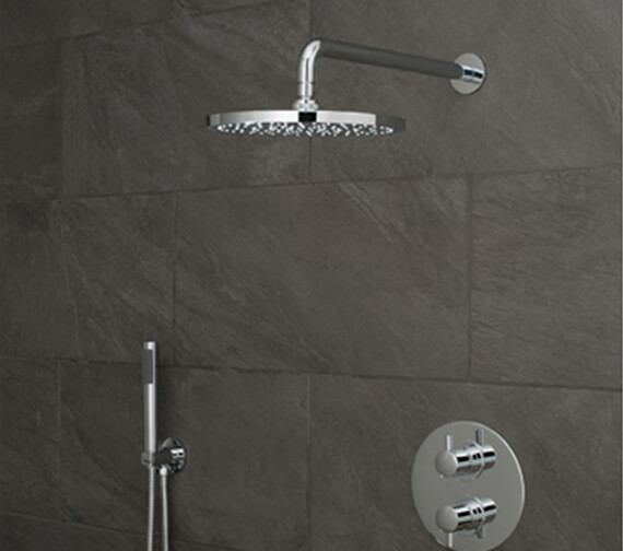 Vado Celsius Round 2 Outlet Showering Package With Zoo Kit