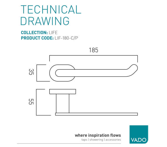 Technical drawing QS-V22453 / LIF-180-C/P