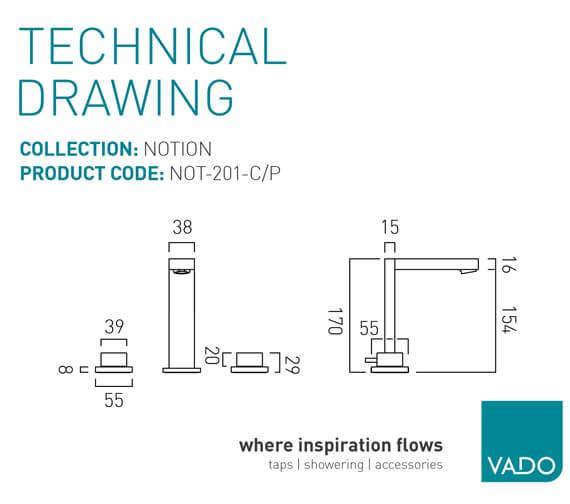 Technical drawing QS-V94018 / NOT-201F-C/P