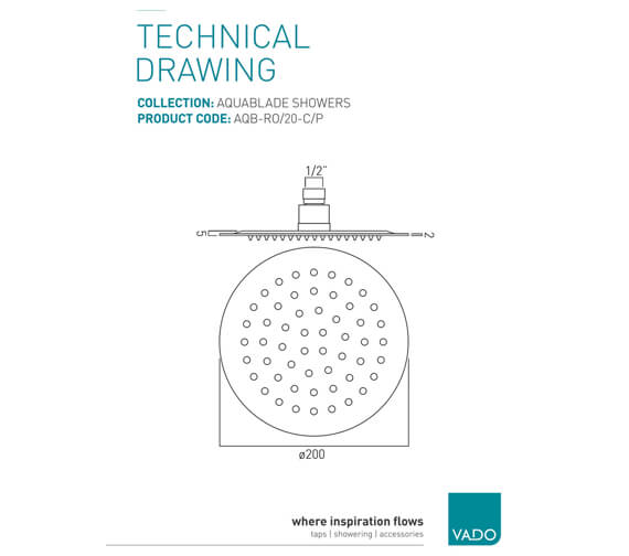 Technical drawing QS-V37195 / AQB-RO/20-C/P