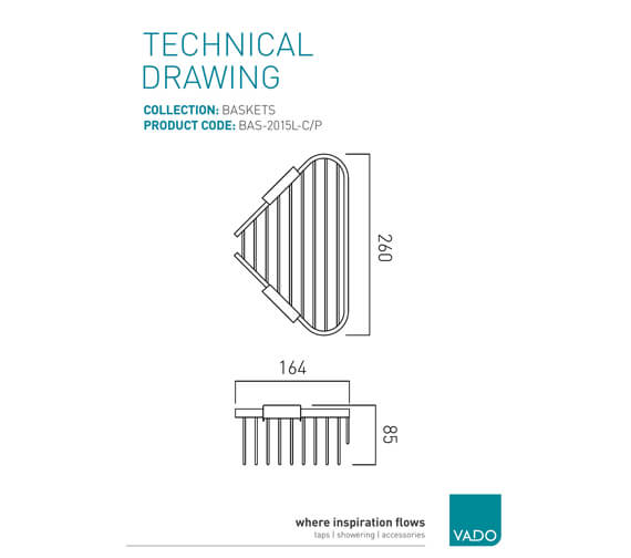 Technical drawing QS-V22495 / BAS-2015L-C/P