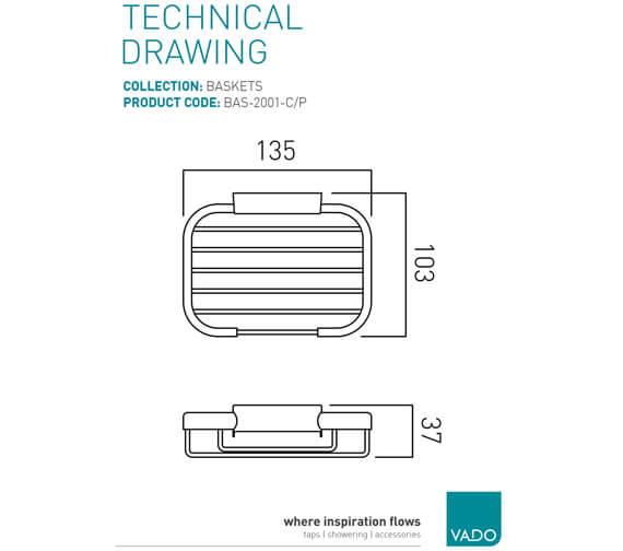 Technical drawing QS-V22489 / BAS-2001-C/P