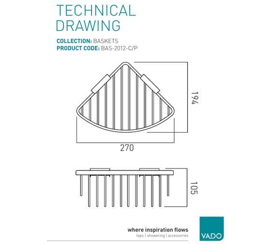 Technical drawing QS-V22496 / BAS-2012-C/P