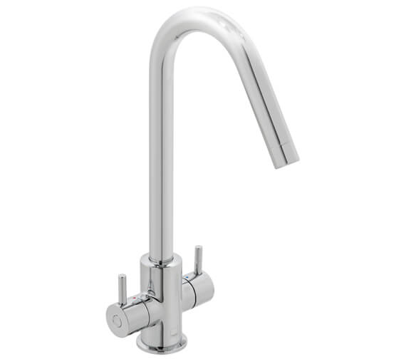Vado Sky Mono Kitchen Sink Mixer Tap With Swivel Spout - CUC-1060