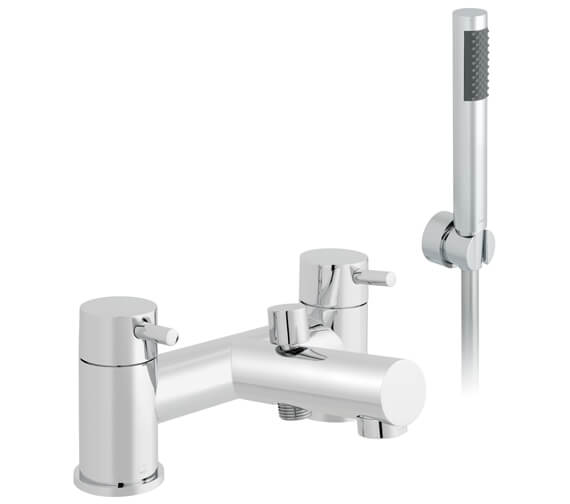 Vado Zoo Deck Mounted 2 Hole Bath Shower Mixer With Kit