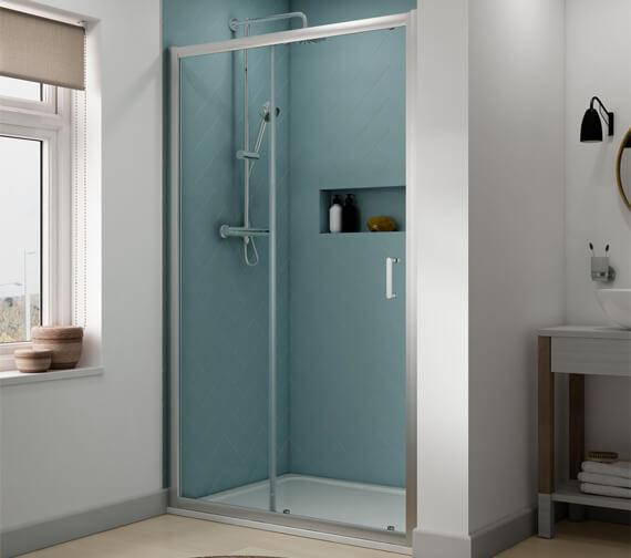 Aqualux Origin 1200mm Sliding Shower Door