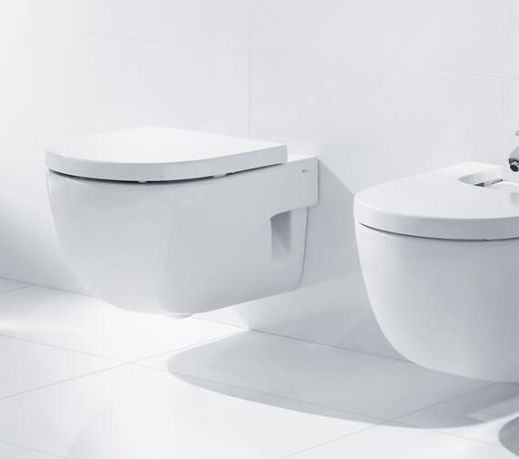 Roca Meridian-N Wall Hung WC Pan 560mm - 346247000