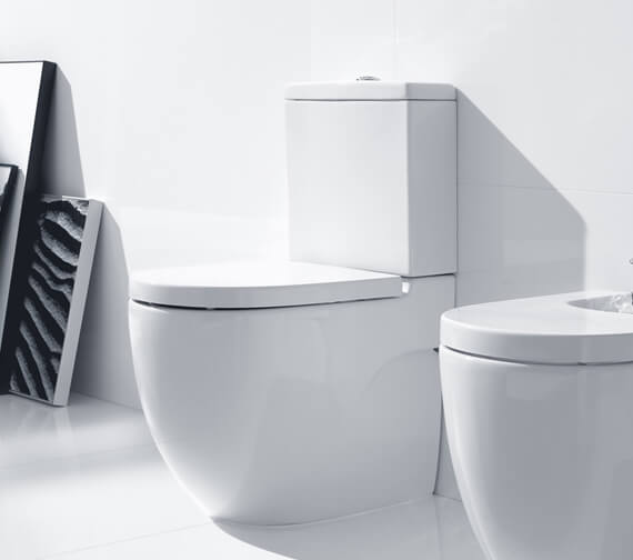 Roca Meridian-N Compact Back To Wall WC Set 600mm - 342248000