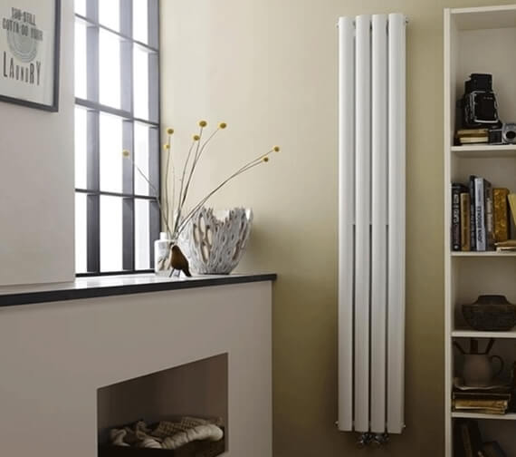 Hudson Reed Revive 236 x 1800mm Compact Double Panel Vertical Radiator