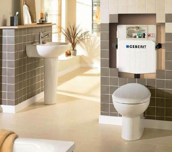 Geberit Sigma 12cm Dual Flush Concealed Cistern UP320
