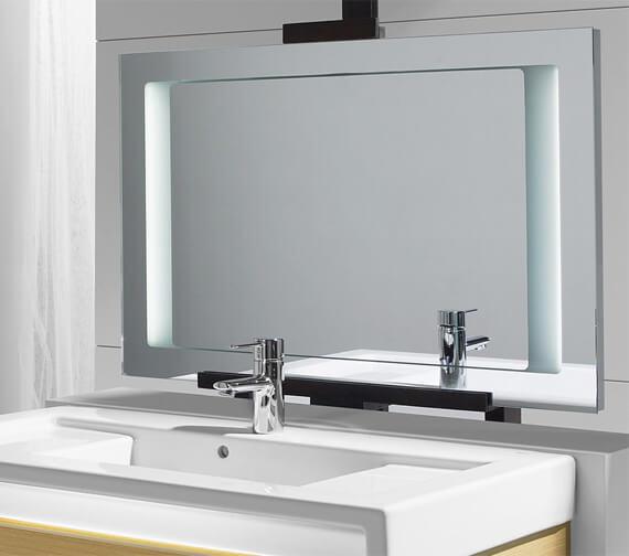 Roca Stratum Mirror With Integrated Light 900 x 600mm - 856223000