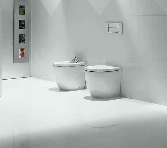 Roca Meridian-N Back To Wall WC Pan