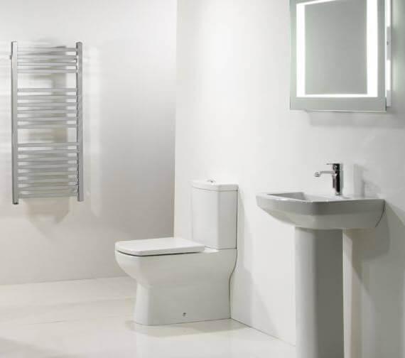 Tavistock Vibe Fully Enclosed Modern Close Coupled WC Pack