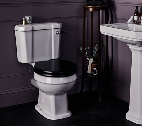 Bayswater Fitzroy 515mm Comfort Height WC Pan With Low Cistern