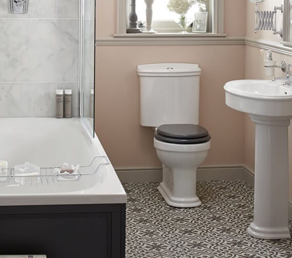 Heritage Claverton Close Coupled WC Pan 711mm And Cistern