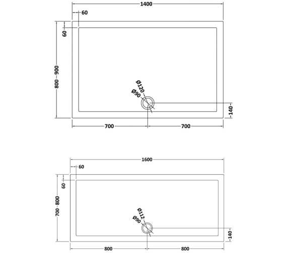 Technical drawing QS-V25468 / NTP033