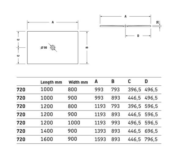 Technical drawing QS-V24092 / 720083000000000
