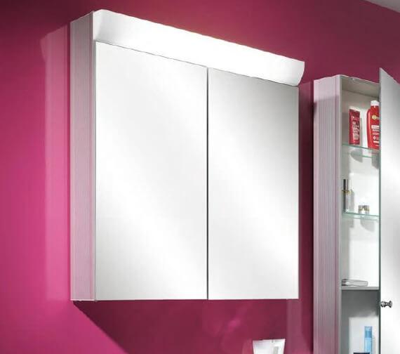Schneider Wangaline 2 Door Mirror Cabinet