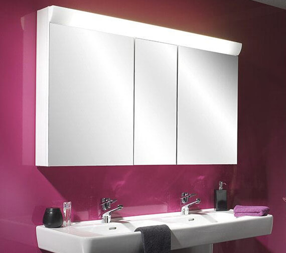 Schneider Wangaline 3 Door Mirror Cabinet