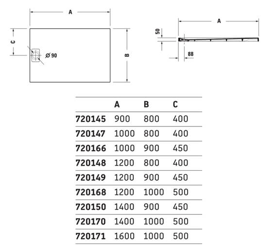 Technical drawing QS-V6317 / 720145480000000